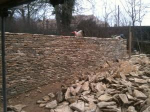 Walling in Stroud